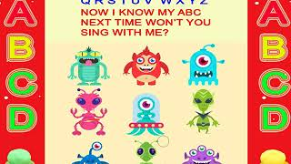 Funny aliens-monsters-animals faces-Animal heads-learn abc-abc song-alphabet-toys-play doh-phonics