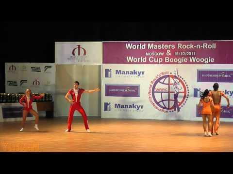 Gerasimov - Tikhonova (RUS) & Cerutti - Hsieh (SUI) - World Masters Moskau 2011