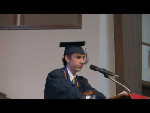 Awesome Valedictorian Speech Franklin Christian Academy Hunter Tomsett