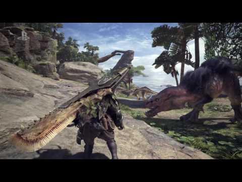 Monster Hunter World E3 2017 Gameplay Trailer