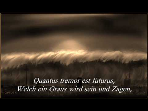Verdi Requiem Mass DIES IRAE Introitus Text Deutsch