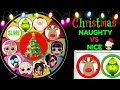 Christmas Naughty Or Nice Spinning Wheel Game 2018 New Toy Surprises