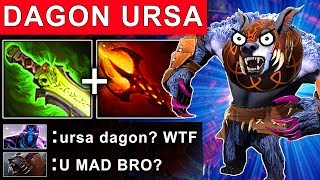 DAGON URSA PATCH 7.16 DOTA 2 NEW META GAMEPLAY #122