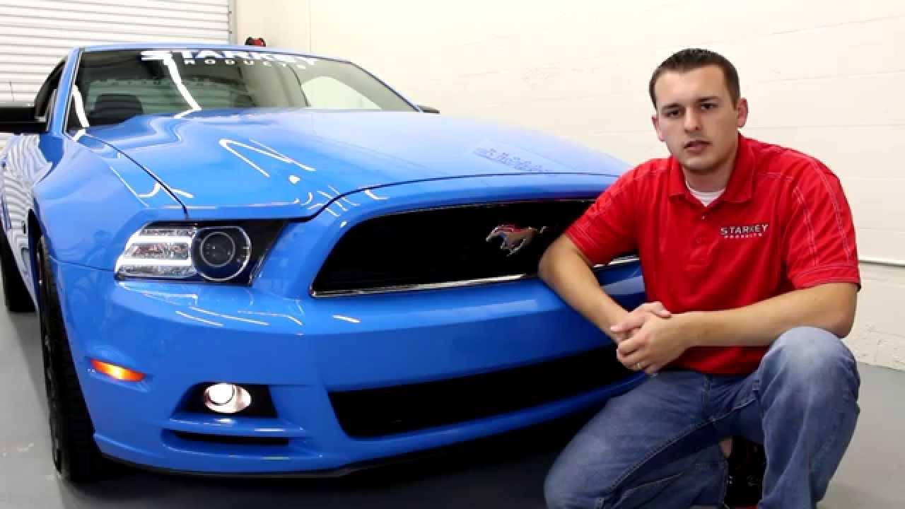 2013 2014 Mustang Lower Valance Fog Light Kit Installation