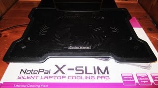 Cooler Master Notepal X-Slim Silent Laptop Cooling Pro Review