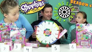 Shopkins Spin Day - Shopkins Season 4 12 Pack - 5 Pack - Crates