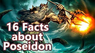 16 Facts about Poseidon - The God of the Sea - Mythological Curiosities #03 See U in History