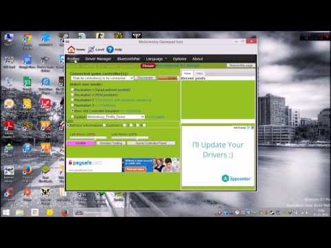 How to use PS3 controller with a PC(windows 8.1)
