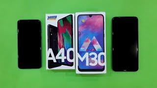 Samsung Galaxy A40 vs Samsung Galaxy M30