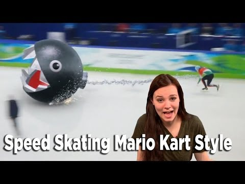 SOCHI 2014 - Speed Skating Mario Kart Style - Soren's Playlist