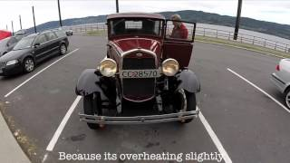 1931 Ford Model A - 3 year cold start and 5 hour drive