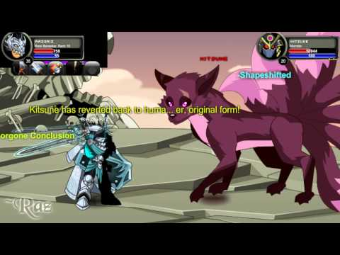 AQWorlds - Chaos Lords Escherion, Vath, Kitsune, Discordia, Kimberly and Ledgermayne solo