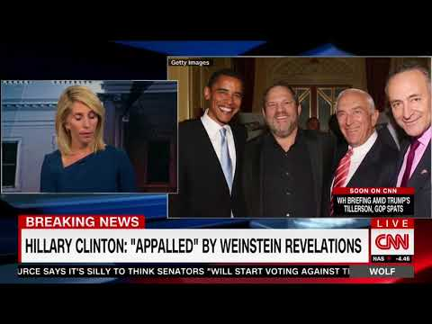 "CNN's Dana Bash: ""Where Are The Obamas?� It Makes ""No Sense� They Don't Condemn Harvey Weinstein"