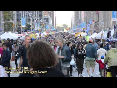 Nikon D7100 Video Review in Little Brazil (Times Square)