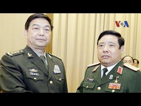 Quân đội Việt-Trung nhất trí giải quyết thỏa đáng tranh chấp hàng hải