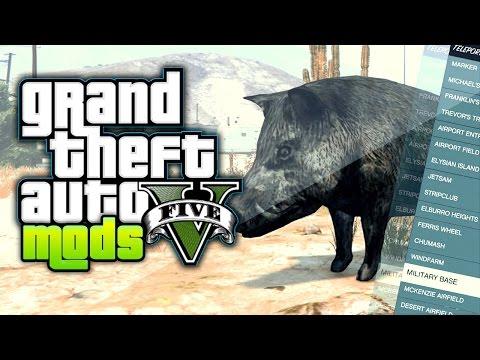 GTA 5 Mods - Du altes Schwein: Native Trainer vorgestellt und Download