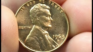 1963-D Penny Worth Money - How Much Is It Worth And Why?