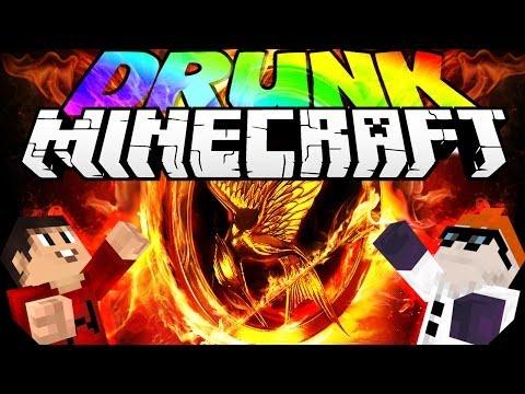 Drunk Minecraft | HUNGER GAMES