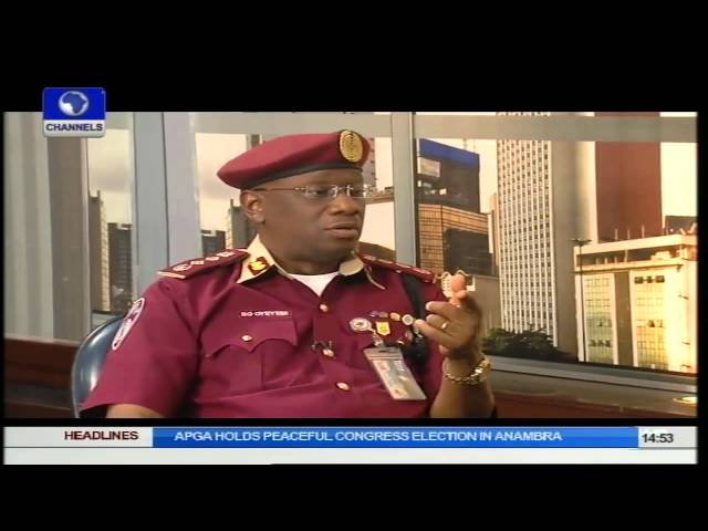 Question Time: Dicussing FRSC Issues With Boboye Oyeyemi Part 2