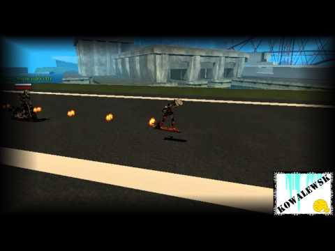 GTA SA : Andando de Hover Board