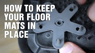 How To Keep Your Floor Mats in Place