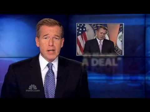 MSNBC - Nightly News - Speaker Boehner:  We 'Reached An Agreement' 12-22-2011