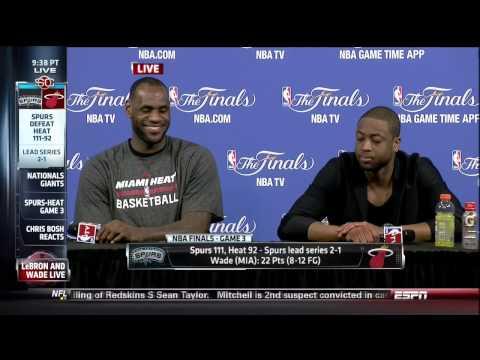 Bobby Ramos Question For Dwyane Wade & LeBron