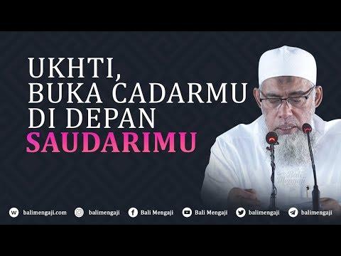 Video Singkat: Ukhti, Buka Cadarmu Di Depan Saudarimu - Ustadz Yazid Bin Abdul Qadir Jawas