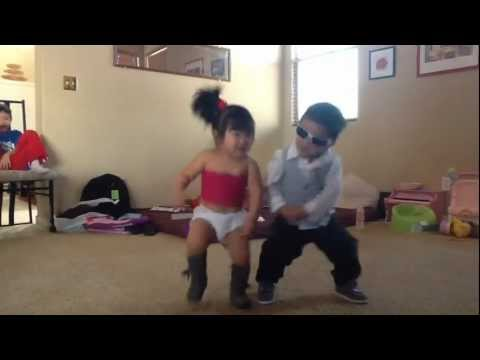 Gangnam Style - Little Psy And  Sexy Baby video