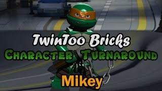 LEGO Character Turnaround: Mikey | TwinToo Bricks