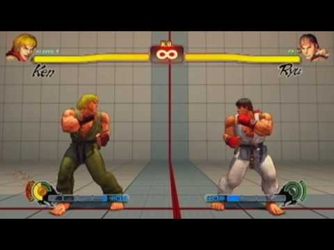 Street Fighter IV - Kara Taunts - all characters