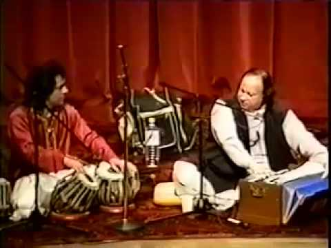 Ustad Tari Khan And Ustad Nusrat Fateh Ali Khan Live  Washington Dc video