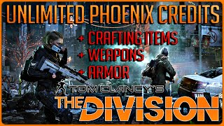 The Division: UNLIMITED Phoenix Credits, Resources & Loot! 150-175 Credits Per Hour! (BEST METHOD)