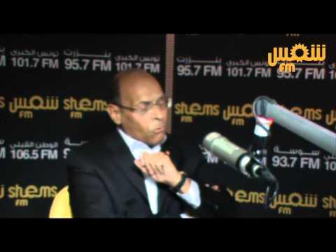 Moncef Marzouki : 'Je suis l'élève de Gandhi et 'élève de Mandela'