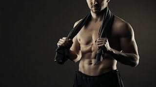 Body Strength Training Gym Fitness Affirmations (spoken with uplifting music)