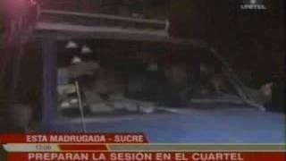 Thumb Muertos en Sucre por la nueva Constitución Política del Estado de Bolivia
