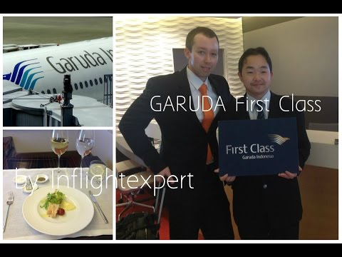 Garuda Indonesia FIRST CLASS   New GARUDA First Suite   1080 [HD] Flight Experience   Inflightexpert