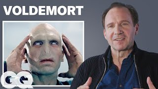 Ralph Fiennes Breaks Down His Most Iconic Characters | GQ