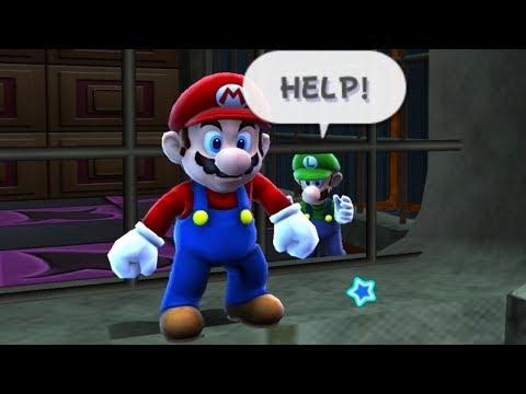 Super Mario Galaxy - All Luigi Rescue Missions