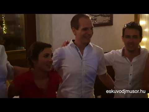 Bajai lagzi party Emesével és Bencével a Duna Welness Hotelben