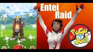 Shiny Entei Raid Guide