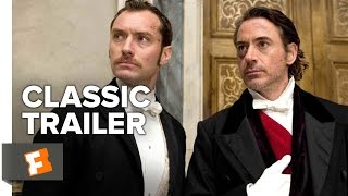 Sherlock Holmes: A Game of Shadows (2011) Official Trailer - Robert Downey Jr, Jude Law Movie HD