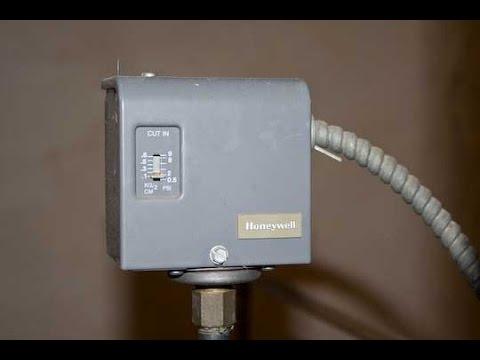 Honeywell Pressuretrol Pa404a