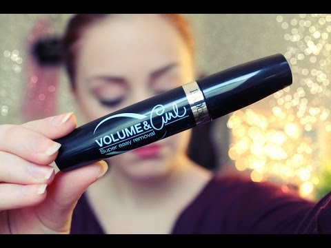 IsaDora Volume & Curl Mascara - First Impression + Review