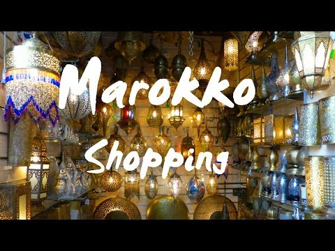 Marokko (deutsch): Shopping - Vlog #68