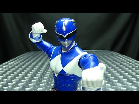 Power Rangers Legacy Collection MMPR BLUE RANGER: EmGo's Power Rangers Reviews N' Stuff