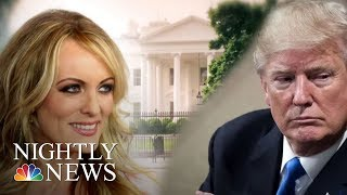 Stormy Daniels Sues President Donald Trump | NBC Nightly News