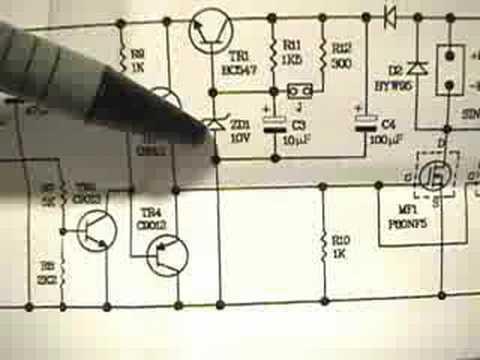 (23) HHO 30 Amp PWM circuit diagram + EFIE