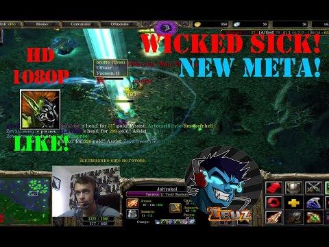 ★DoTa Troll Warlord, Jah'rakal - GamePlay | Guide★ Wicked SICK! Triple Kill!★