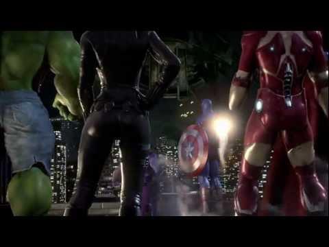 Marvel Los Vengadores Batalla Por La Tierra Trailer  Xbox Wii